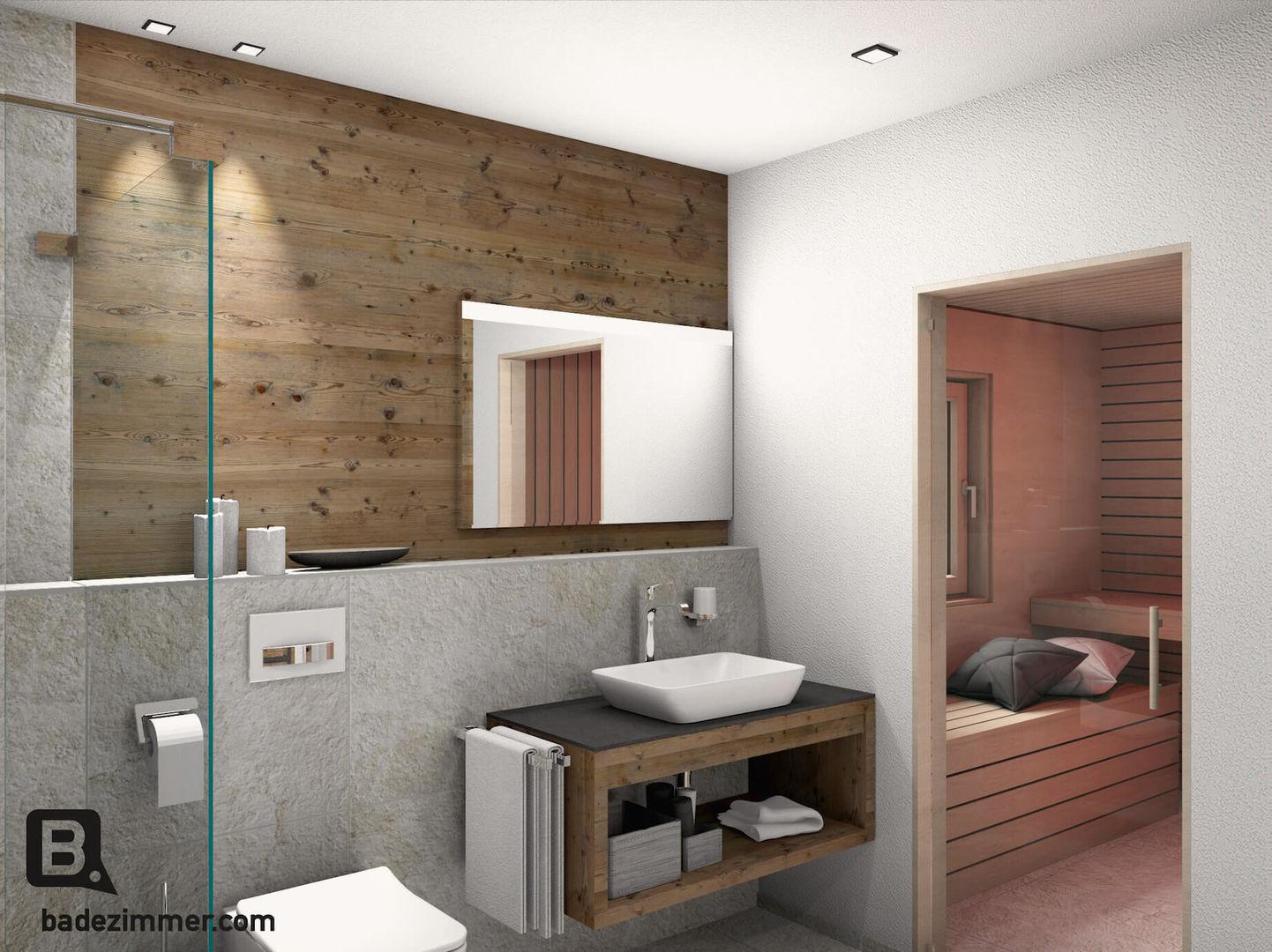 idyllisches bad im golf chalet. Black Bedroom Furniture Sets. Home Design Ideas